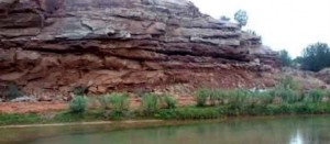 Red Cliff on the Pecos River