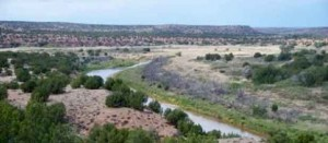 Pecos River and surrounding area
