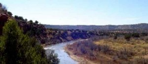 Pecos River area
